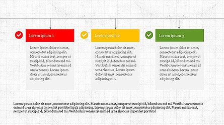 Action Plan Agenda Template, Slide 3, 04115, Text Boxes — PoweredTemplate.com
