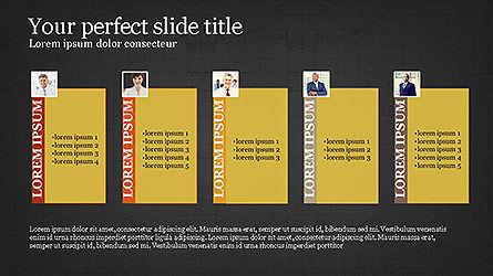 Project Team Presentation Concept, Slide 16, 04118, Business Models — PoweredTemplate.com