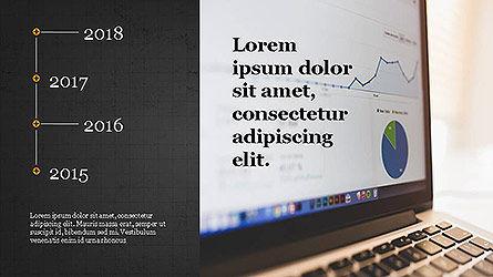 Statistical Report Presentation Template, Slide 10, 04122, Infographics — PoweredTemplate.com