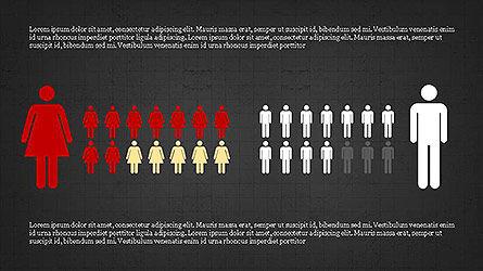 Statistical Report Presentation Template, Slide 13, 04122, Infographics — PoweredTemplate.com