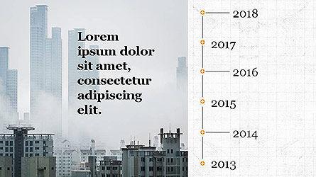 Statistical Report Presentation Template, Slide 6, 04122, Infographics — PoweredTemplate.com