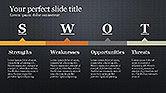 SWOT Diagram in Flat Design#16