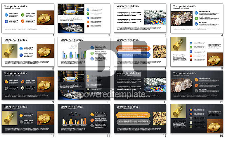 Financial Investments Presentation Template