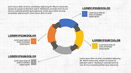 Colorful Options and Diagrams, Slide 4, 04127, Presentation Templates — PoweredTemplate.com