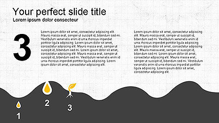 Growing a Tree from Seed Presentation Template, Slide 10, 04131, Presentation Templates — PoweredTemplate.com