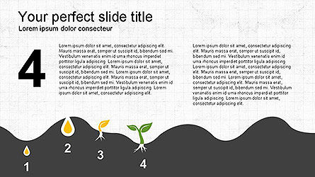 Growing a Tree from Seed Presentation Template, Slide 11, 04131, Presentation Templates — PoweredTemplate.com