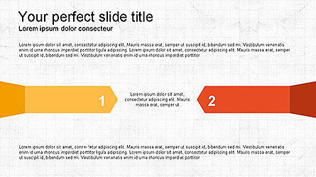 Paper Style Shapes, Slide 2, 04132, Shapes — PoweredTemplate.com