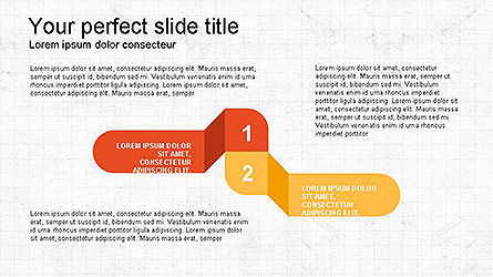 Paper Style Shapes, Slide 3, 04132, Shapes — PoweredTemplate.com