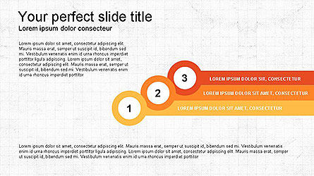 Paper Style Shapes, Slide 4, 04132, Shapes — PoweredTemplate.com