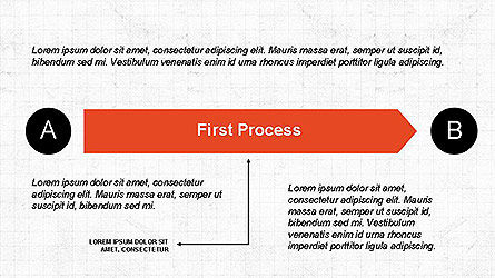 5 Step Process Diagram, Slide 4, 04133, Process Diagrams — PoweredTemplate.com