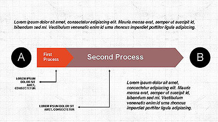 5 Step Process Diagram, Slide 5, 04133, Process Diagrams — PoweredTemplate.com
