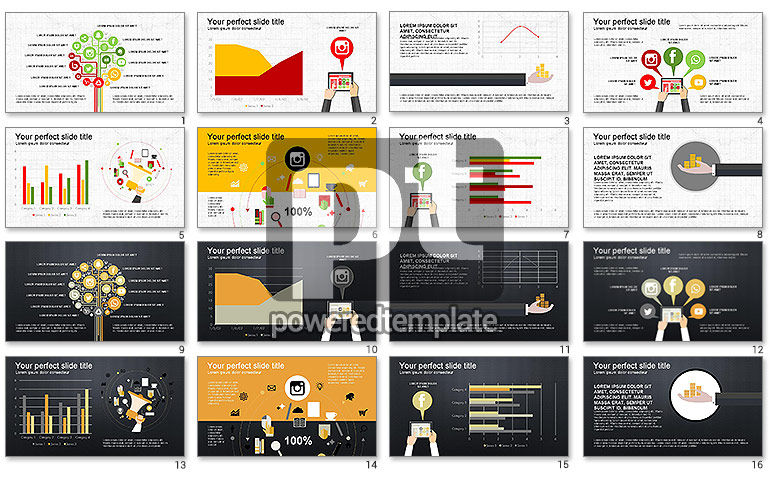Social Media Monetization Presentation Template