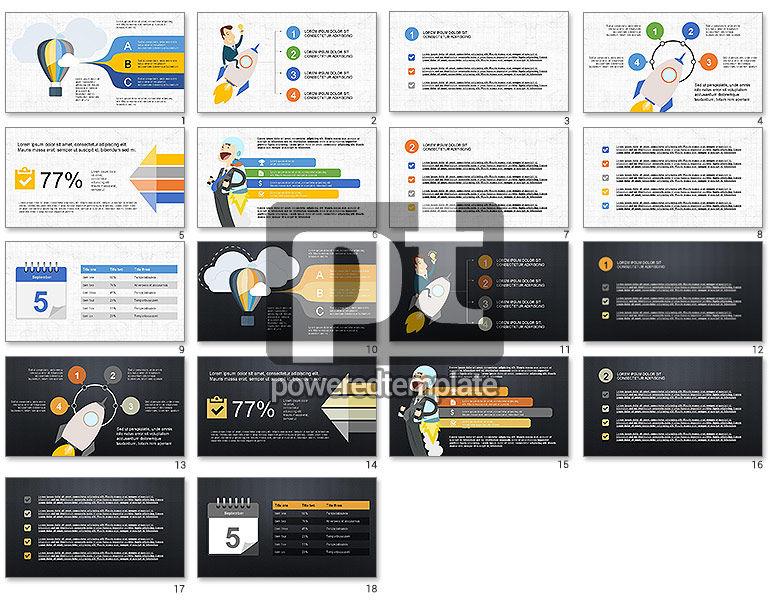 Startup Agenda Presentation Template