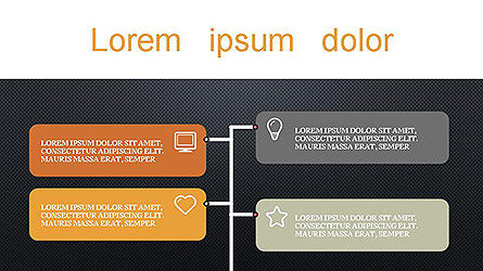 Presentation with Icons Slide 12
