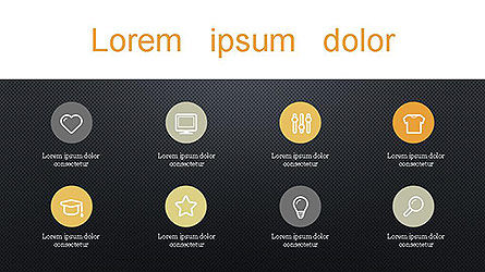 Presentation with Icons Slide 13
