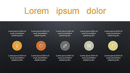 Presentation with Icons Slide 14