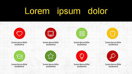 Presentation with Icons Slide 5