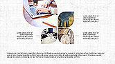 Presentation Templates: Diagrama de estilos de pétalos #04137