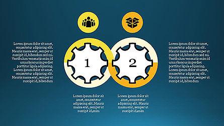 Project Management Diagram Scheme, Slide 10, 04138, Shapes — PoweredTemplate.com