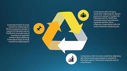 Project Management Diagram Scheme, Slide 12, 04138, Shapes — PoweredTemplate.com