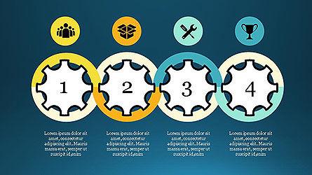 Project Management Diagram Scheme, Slide 15, 04138, Shapes — PoweredTemplate.com