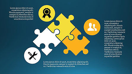 Project Management Diagram Scheme, Slide 9, 04138, Shapes — PoweredTemplate.com