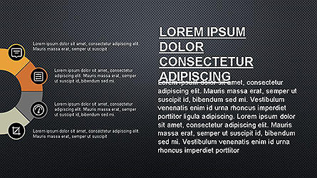 Presentation Template with Icons, Slide 12, 04141, Icons — PoweredTemplate.com