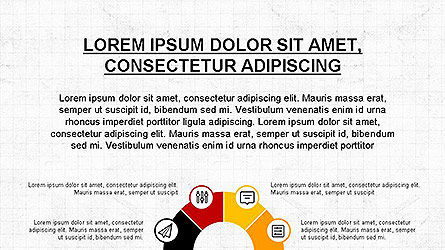 Presentation Template with Icons Slide 3