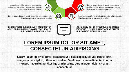 Presentation Template with Icons Slide 4