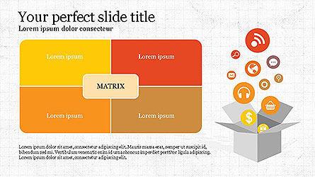 Infograhics Slides, 04143, Infographics — PoweredTemplate.com