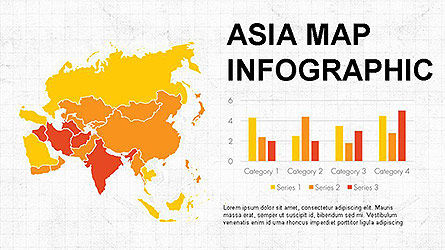 Countries Maps Infographics, 04147, Infographics — PoweredTemplate.com