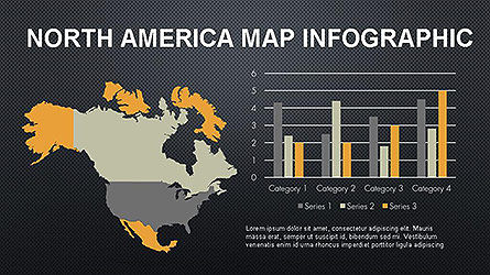 Countries Maps Infographics Slide 13
