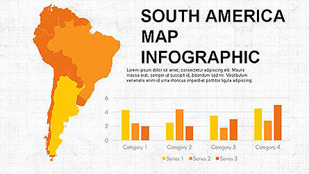 Countries Maps Infographics Slide 5
