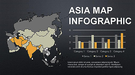 Countries Maps Infographics Slide 8