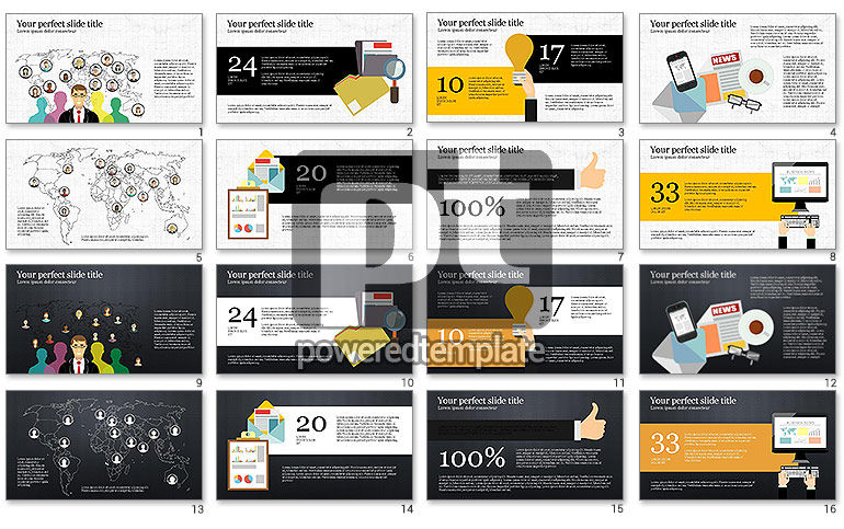 News and Media Presentation Template