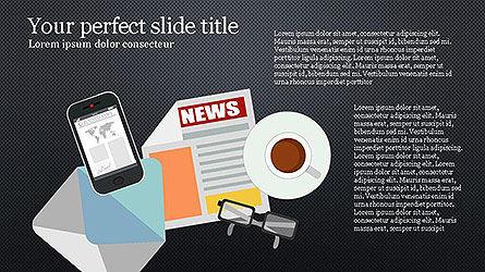 News and Media Presentation Template Slide 12