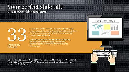 News and Media Presentation Template Slide 16