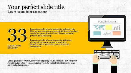 News and Media Presentation Template Slide 8