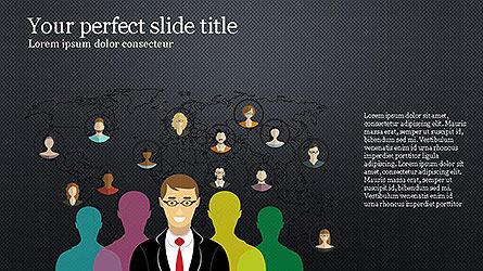 News and Media Presentation Template Slide 9