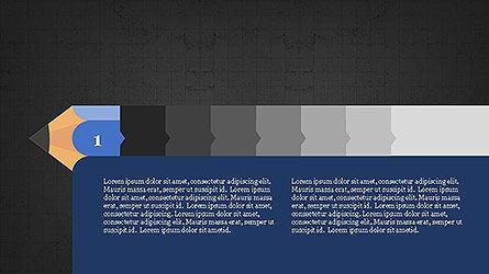 Pencil Stage Diagram Concept Slide 10