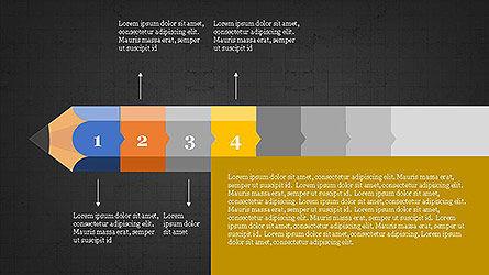 Pencil Stage Diagram Concept Slide 13