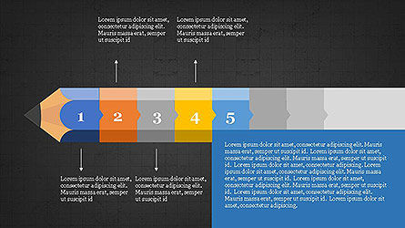 Pencil Stage Diagram Concept Slide 14