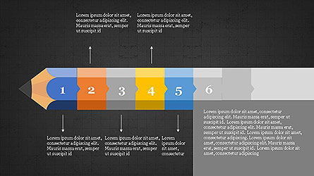 Pencil Stage Diagram Concept Slide 15