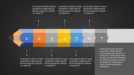 Pencil Stage Diagram Concept Slide 16
