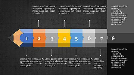 Pencil Stage Diagram Concept Slide 17