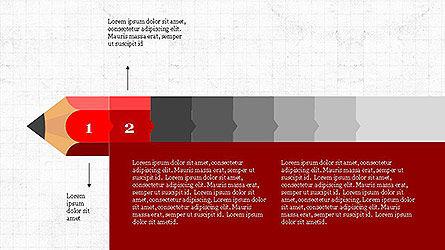 Pencil Stage Diagram Concept Slide 2