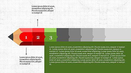 Pencil Stage Diagram Concept Slide 3