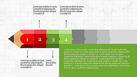 Pencil Stage Diagram Concept Slide 4