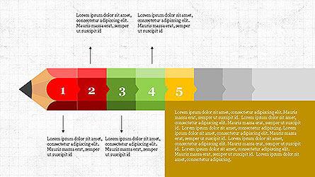 Pencil Stage Diagram Concept Slide 5