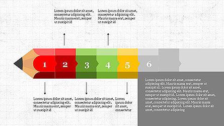 Pencil Stage Diagram Concept Slide 6